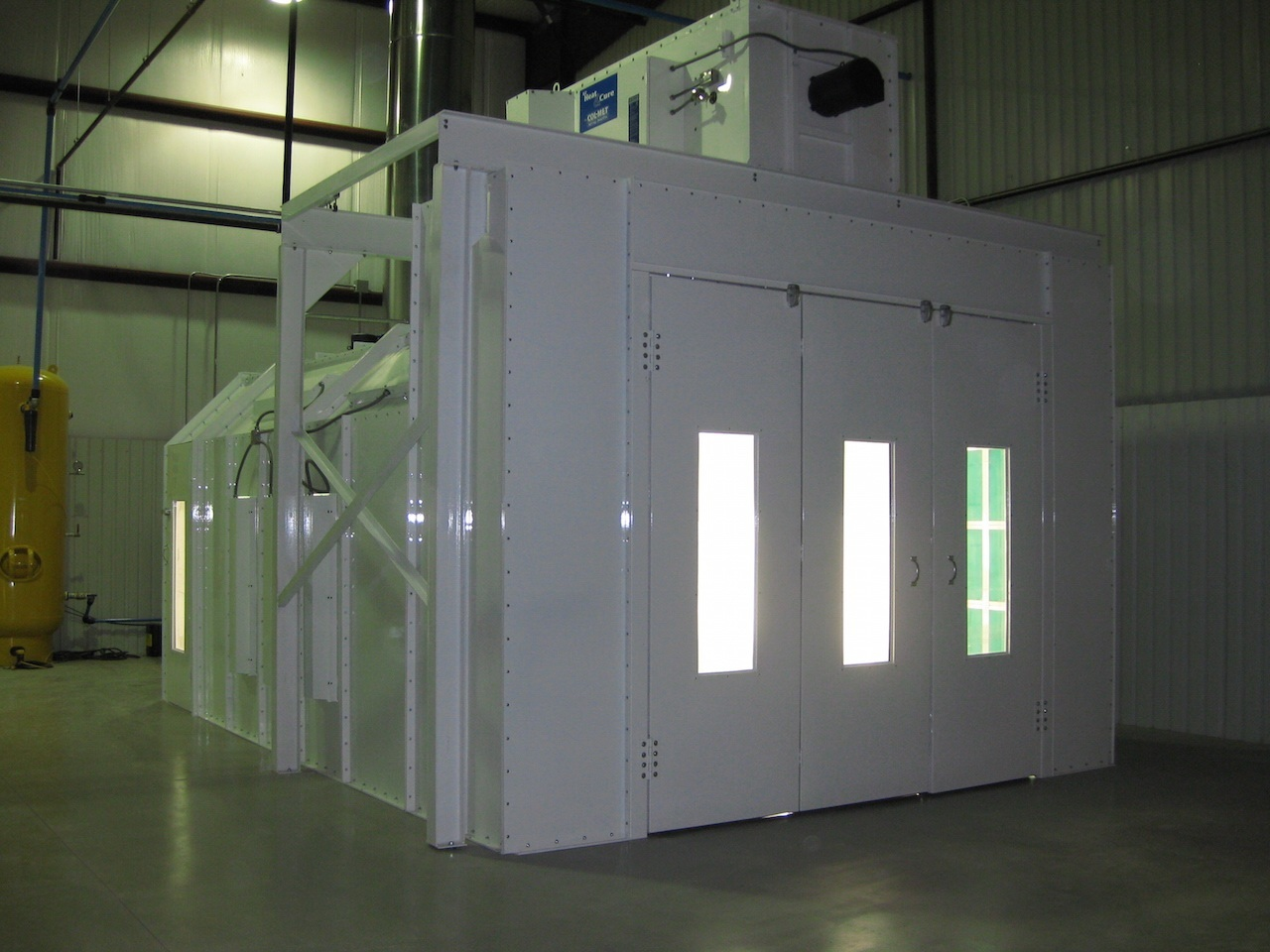 Canfield Amp Joseph Col Met Paint Booths